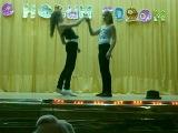 Танец на Новом годе в 83 школе